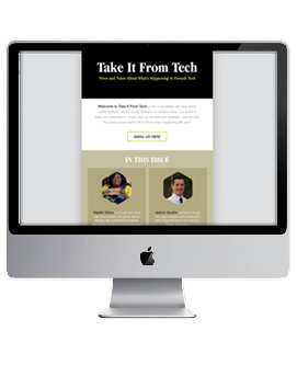 Take it From Tech e-Newsletter