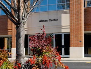 Allman Center Entrance, Main Campus